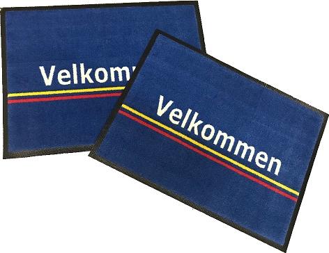 Reklamemåtter.dk | Skilte Design Randers | Reklamemåtter | logo på måtter | Logomåtter | Kvalitets logo måtte til HB El Service Randers.